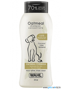 Wahl Oatmeal Dog Shampoo (709 ml)
