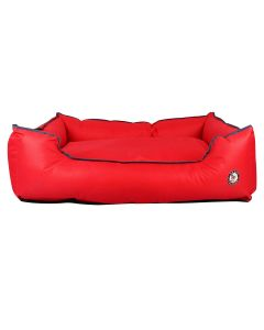 Petsworld Waterproof Cool Bed for Dog Red Medium