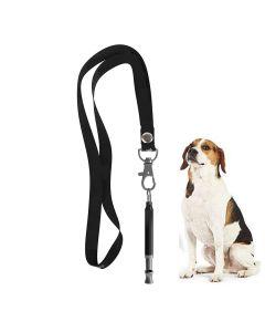 Petsworld Dog Training Whistle With Lanyard Strap Matte Black