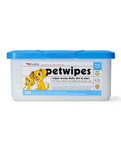 Petkin Pet Wipes For Dogs and Cats 100 pcs