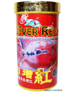 Ocean Free XO Ever Red Strong Redness Develpoment Fish Food 400 gms (1100 ml)