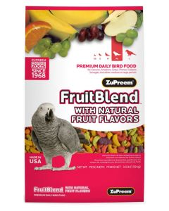 ZUPREEM Fruit Blend Premium Food For Medium Large Bird 1.59 Kg