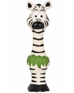 Pet Brands Go Wild Zebra Latex Dog Toy (24 cm)