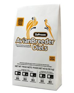 ZuPreem Avian Breeder Diet Fruit Blend Food For Bird 18.14 Kg