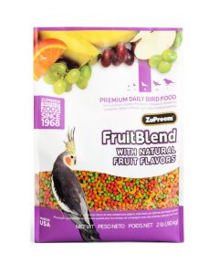 ZUPREEM Fruit Blend Premium Food For Medium Bird 900 gm